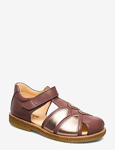 Sandals - flat - closed toe -  - 1524/1311 PLUM/ROSE COPPER