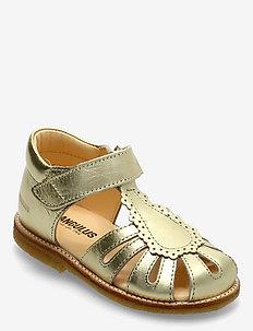 Sandals - flat - closed toe -  - sko - 1317 gold