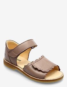 Sandals - flat - open toe - clo - sko - 1433 make-up