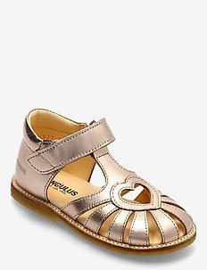 Sandals - flat - closed toe -  - sko - 1311 rose copper