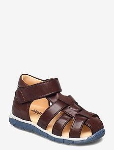 Sandals - flat - closed toe -  - sandaler - 1562 angulus brown