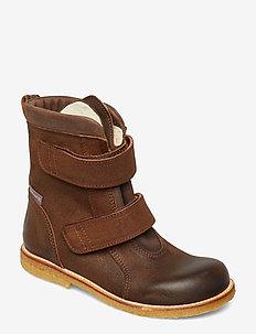 1202 - boots - 2108/1660 brown/dark brown