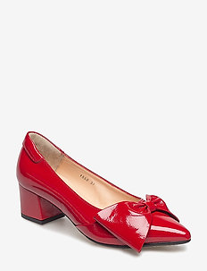 ***Pump*** - klassiske pumps - 1377 dark red
