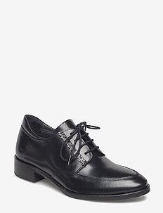 Shoes - flat - snörskor - 1400 black