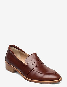 Loafer - flat - instappers - 1837 brown