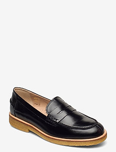 Loafer - flat - instappers - 1835 black