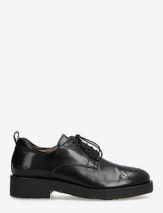 Shoes - flat - with lace - snörskor - 1835 black