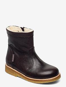Booties - flat - with zipper - winterlaarzen - 2505/1660 dark brown