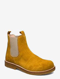 Chelsea boot - laarzen - 2201/010 yellow/beige