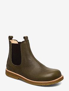 Chelsea boot - laarzen - 2638/002 khaki/brown