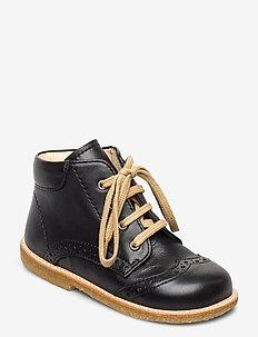 Baby shoe - lära-gå-skor - 1604 black