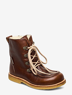2380 - winter boots - 2509/1589 red-brown