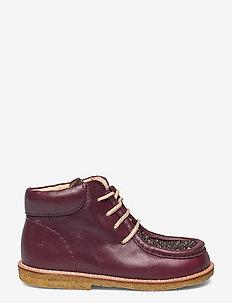 Shoes - flat - with lace - støvler - 1445/2487