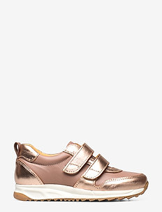 Shoes - flat - with velcro - lave sneakers - 1311/1433 rose copper/make-up