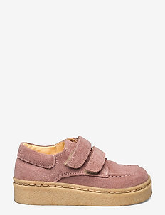 Shoes - flat - with velcro - lave sneakers - 2194 powder