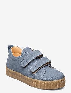 Shoes - flat - with velcro - låga sneakers - 2673 denim blue