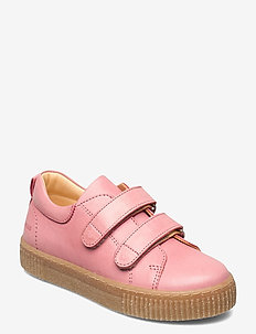 Shoes - flat - with velcro - låga sneakers - 1542 rose