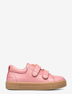 Shoes - flat - with velcro - lave sneakers - 1542 rose