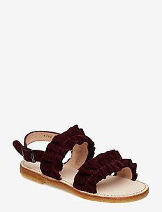Sandals - flat - open toe - op - 2195 BORDEAUX