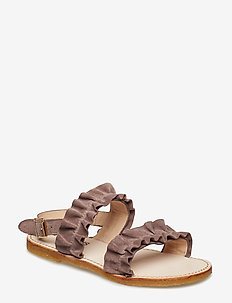 Sandals - flat - open toe - op - 2202 DUSTY LAVENDER