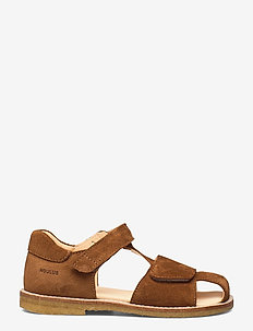 Sandals - flat - closed toe -  - sandaler - 2219 cognac