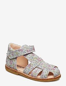 Baby sandal - 2492 MULTI FLOWER