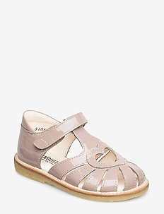 Sandal with heart detail - sandals - 1387 rose