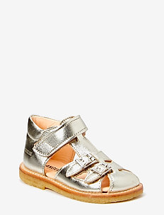 Sandals - flat - sandalen - 1325 champagne