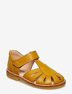 Sandals - flat - closed toe -  - 1574 YELLOW