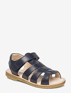 Sandals - flat - open toe - op - sandalen - 1530 navy