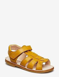 Sandals - flat - open toe - op - sandalen - 1574 yellow