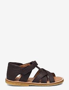 Sandals - flat - open toe - clo - sandaler - 2499 brown vegan