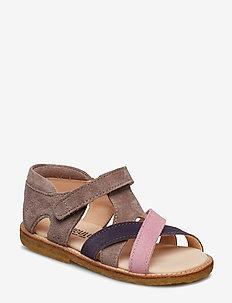 Sandals - flat - open toe - clo - 2204/2203/2202 ROSA/LILLA/LAV.