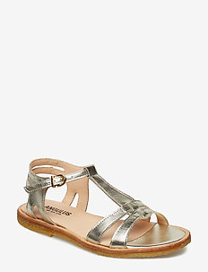 Sandal with leather sole - 1325 CHAMPAGNE