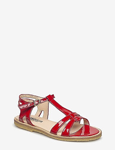 Sandal with leather sole - 2325 RED