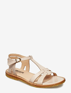 Sandal with leather sole - 2334 POWDER