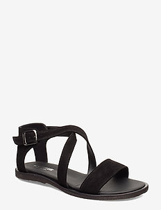 5442 - flade sandaler - 1163 black