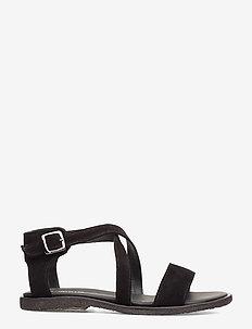 5442 - platta sandaler - 1163 black