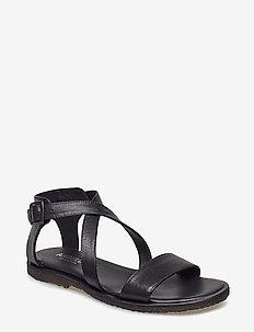 5442 - flate sandaler - 1604 black