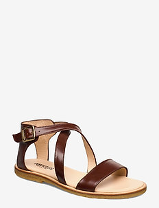 5442 - flade sandaler - 1837 brown