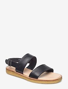 5452 - flade sandaler - 1604 black