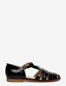 Sandals - flat - closed toe - op - platta sandaler - 2320 black