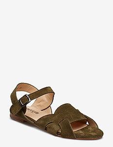 Sandals - flat - 2196 OLIVE