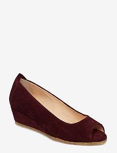 Sandals - flat - open toe - clo - 2195 BORDEAUX