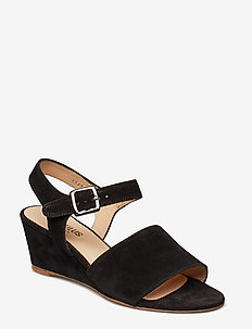 Sandals - flat - open toe - clo - kilehæl - 1163 black