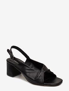 Sandals - Block heels - 1604 BLACK