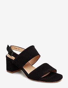 Sandals - Block heels - 1163 BLACK