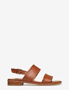 Sandals - flat - platta sandaler - 1789 tan
