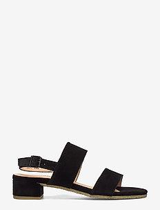Sandals - flat - högklackade sandaler - 1163 black