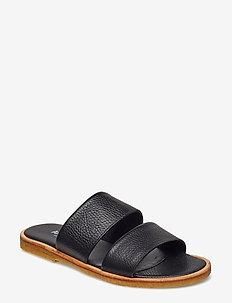 Sandals - flat - 2504 BLACK